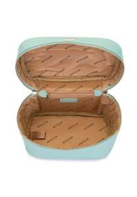 Wittchen - Damska kosmetyczka kuferek duża. Kolor: miętowy. Materiał: skóra ekologiczna. Wzór: aplikacja #5