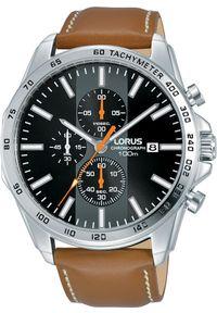 Brązowy zegarek Lorus