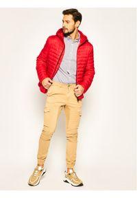 Czerwona kurtka puchowa Geox