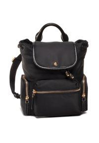Czarny plecak Lauren Ralph Lauren klasyczny