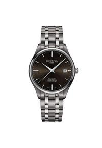 Srebrny zegarek CERTINA elegancki
