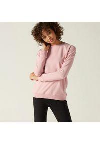 NYAMBA - Bluza fitness. Kolor: różowy. Materiał: bawełna, poliester, materiał, elastan. Sport: fitness