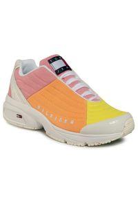 Buty sportowe Tommy Jeans w kolorowe wzory