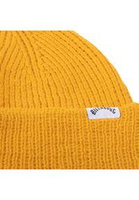 Żółta czapka zimowa Billabong