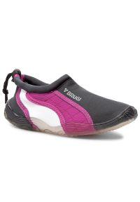 Szare buty sportowe Brugi z cholewką