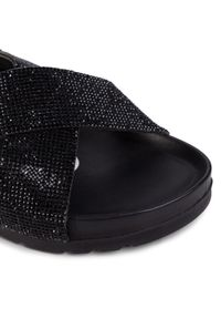 Czarne sandały Gioseppo z aplikacjami