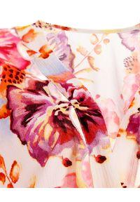 AGUA BENDITA - Kombinezon w kwiaty Oazze. Kolor: czerwony. Długość: długie. Wzór: kwiaty