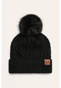 Czarna czapka Viking