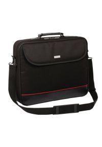 Czarna torba na laptopa MODECOM w kolorowe wzory