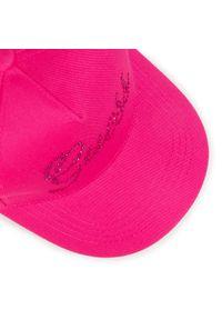 Różowa czapka z daszkiem Guess
