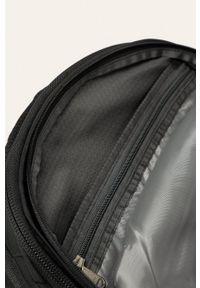 Czarny plecak The North Face gładki