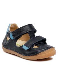 Froddo - Sandały FRODDO - G2150128 M Dark Blue. Kolor: niebieski. Materiał: skóra. Sezon: lato. Styl: klasyczny