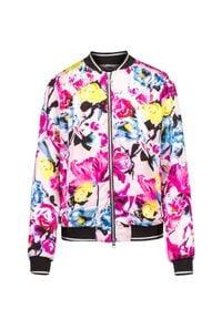 Sportalm - Bluza SPORTALM BIBIANA. Kolor: różowy. Materiał: wiskoza, skóra, bawełna. Sezon: lato