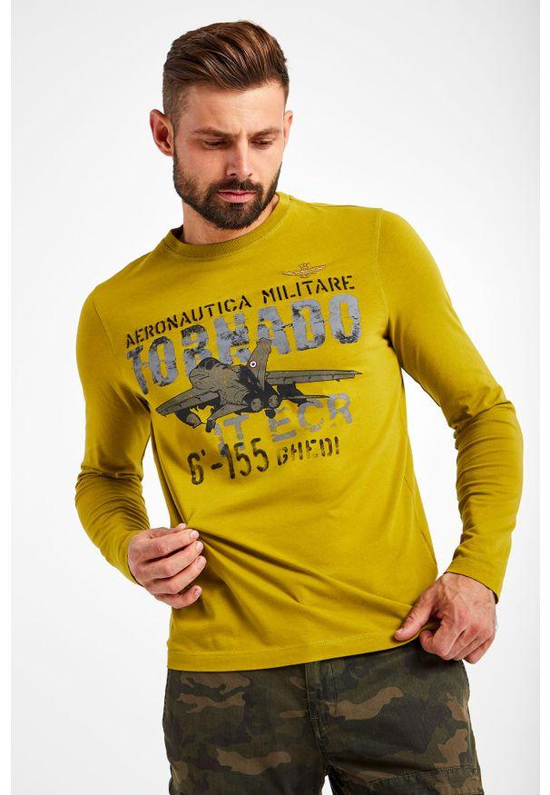 Aeronautica Militare - LONGSLEEVE AERONAUTICA MILITARE. Okazja: na co dzień. Długość rękawa: długi rękaw. Wzór: nadruk. Styl: casual