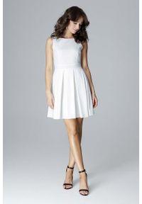 Sukienka mini Katrus wizytowa, bez rękawów #1