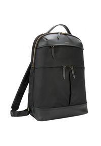 Czarny plecak na laptopa TARGUS w kolorowe wzory
