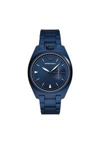 Niebieski zegarek Emporio Armani #3