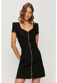 Czarna sukienka TALLY WEIJL prosta, mini