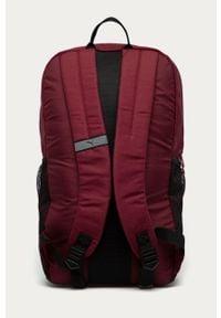 Fioletowy plecak Puma z aplikacjami