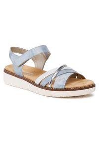 Niebieskie sandały Remonte
