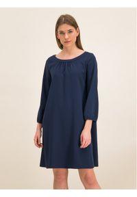 iBlues Sukienka koktajlowa 72262796 Regular Fit. Kolor: niebieski. Styl: wizytowy #1