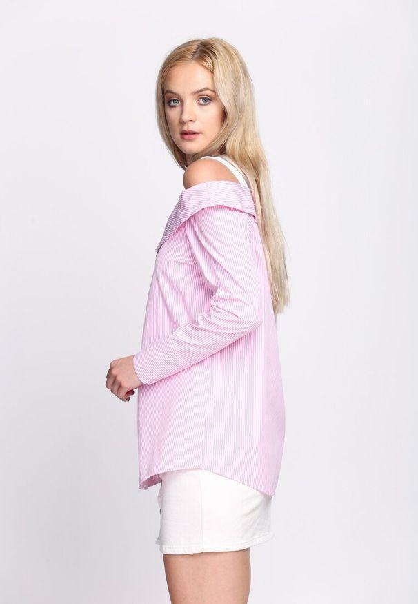 Różowa koszula Born2be