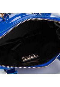 Niebieska torebka klasyczna Versace Jeans Couture klasyczna