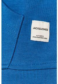 Niebieska bluza nierozpinana Jack & Jones z kapturem