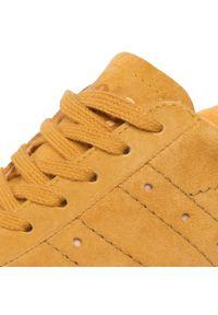 Żółte sneakersy Gola na co dzień, z cholewką