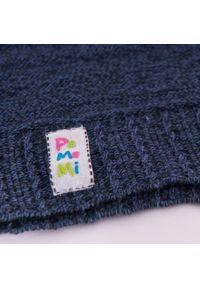 Bawełniana czapka dziecięca PaMaMi- ciemnoniebieski. Kolor: niebieski. Materiał: bawełna, elastan. Sezon: wiosna #2