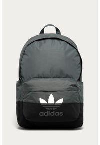 Szary plecak adidas Originals z nadrukiem