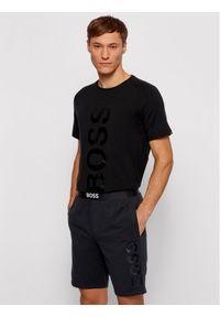 BOSS - Boss Szorty sportowe Identity 50449829 Czarny Regular Fit. Kolor: czarny