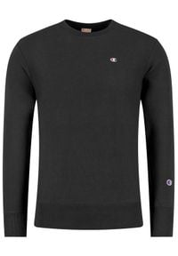 Champion Bluza 214676 Czarny Custom Fit. Kolor: czarny