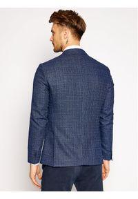 Tommy Hilfiger Tailored Marynarka Fks TT0TT08463 Granatowy Slim Fit. Kolor: niebieski