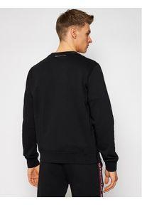 Czarna bluza Karl Lagerfeld z dekoltem karo