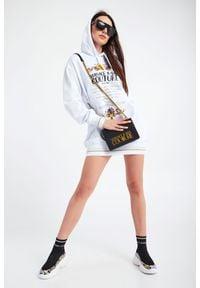 Versace Jeans Couture - TOREBKA VERSACE JEANS COUTURE. Wzór: haft, aplikacja. Dodatki: z haftem. Materiał: zdobione, z tłoczeniem #3