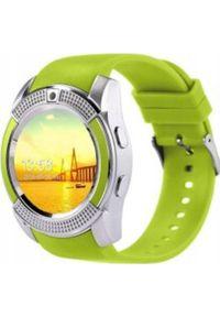 Zielony zegarek smartwatch