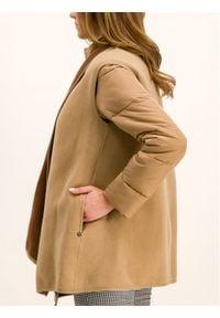 Pennyblack Kurtka puchowa Antenna 24845119 Brązowy Slim Fit. Kolor: brązowy. Materiał: puch