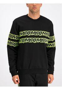 MCQ Alexander McQueen Bluza 348190 RNT29 1000 Czarny Regular Fit. Kolor: czarny