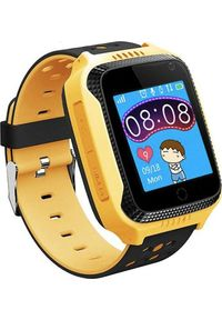 Żółty zegarek Frahs smartwatch