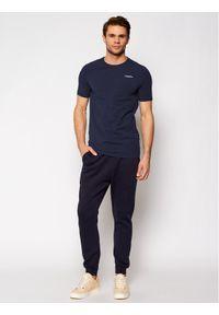 G-Star RAW - G-Star Raw T-Shirt Base D19070-C723-6067 Granatowy Slim Fit. Kolor: niebieski