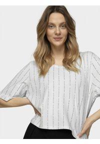 Biały t-shirt outhorn krótki