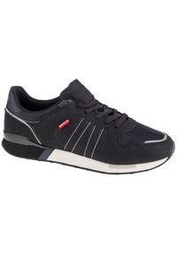 Czarne sneakersy Levi's® z cholewką