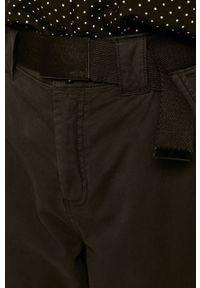 Czarne spodnie materiałowe medicine casualowe, na co dzień