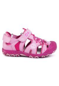 Różowe sandały Big-Star na lato