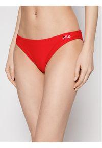 Czerwone bikini Fila