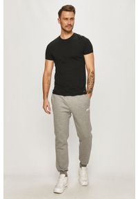 Szare spodnie dresowe Prosto.