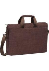 Brązowa torba na laptopa RIVACASE biznesowa