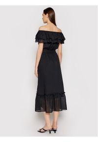 Liu Jo Sukienka koktajlowa WA1496 T5976 Czarny Regular Fit. Kolor: czarny. Styl: wizytowy