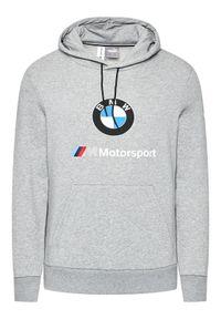 Puma Bluza BMW Motorsport Ess Logo 599533 Szary Regular Fit. Kolor: szary